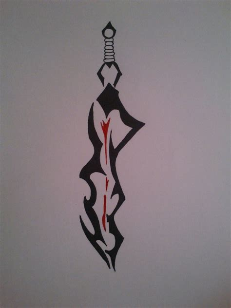 again the tribal sword tattoo design 187 tattoo ideas