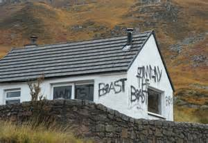 Remote Colorado Cabins For Sale by Jimmy Savile The Beast Graffiti Vandals Target