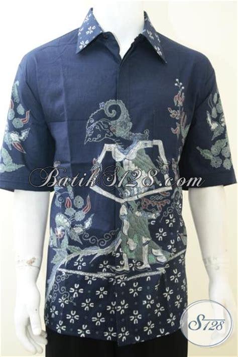 Dress Kemeja Dewi baju batik tulis wayang motif dewi shinta untuk pria warna
