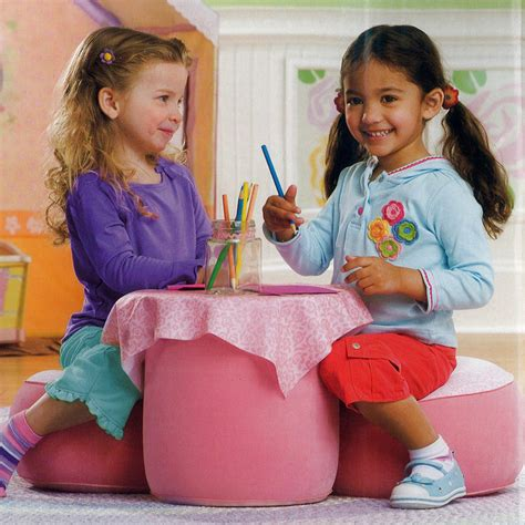 Petal Cottage Table And Chairs Set playskool petal cottage pink table and