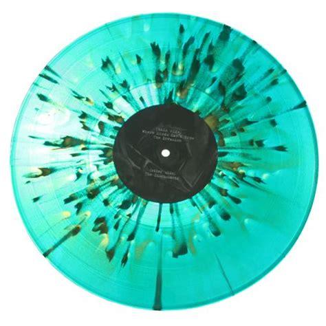 colored vinyl splatter color vinyl record records vinyl
