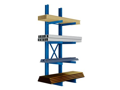 Cantilever Rack by Heavy Duty Single Sided Cantilever Rack Uprights
