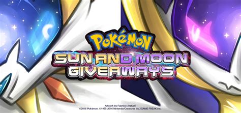 Sun And Moon Pokemon Giveaway - pokemon sun and moon giveaways by zxack on deviantart