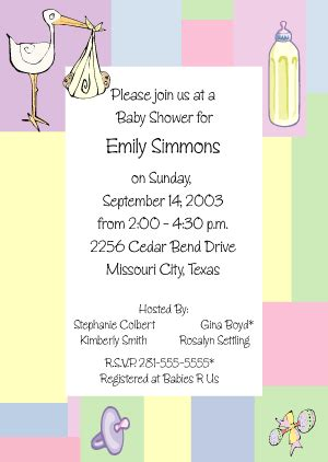 baby shower invitation wording exles baby shower invitation wording baby shower invitations