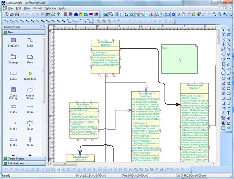 visio for uml visio like diagram drawing tool with vc source code