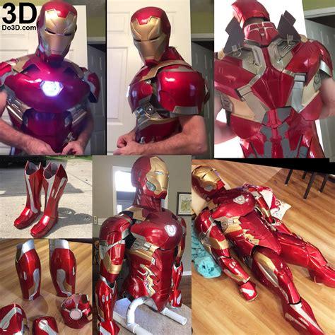 printable iron man armor 3d printable suit iron man mark xlvi xlvii armor model