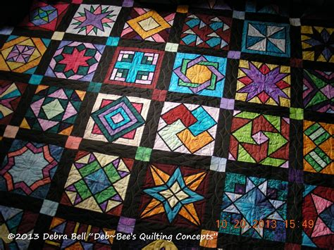 Stained Glass Quilt by Deb Bee S Quilting Concepts Sewing Is A See