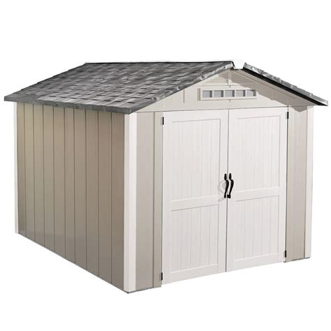 Shed Ventilation Home Depot by Homestyles Premier 8 Ft X 10 Ft Vinyl Shed 73005128