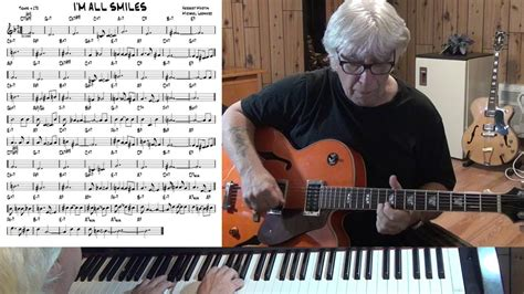 M Bel Martin Len 2063 by I M All Smiles Jazz Guitar Piano Cover Michel