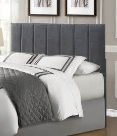 Grey Upholstered Headboard Homelegance Portrero Upholstered Headboard Grey 2024 1hb At Homelement