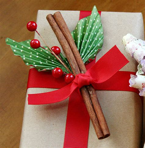 christmas gift wrapping creative ideas for toppers and