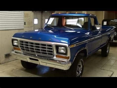 1979 ford f150 4x4 pickup 351 v8 nicely restored classic
