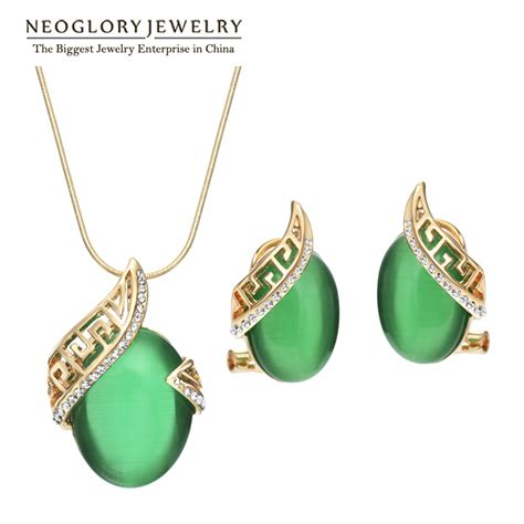 buy gold to make jewelry aliexpress buy neoglory 14k gold plated wedding