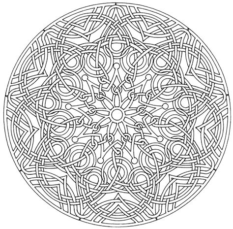 coloring pages adults mandala mandalas coloring pages for adults coloring page
