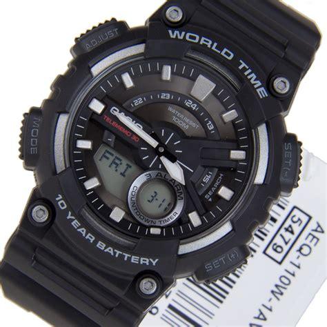 Casio Aeq 110w 1av casio world time aeq 110w 1av