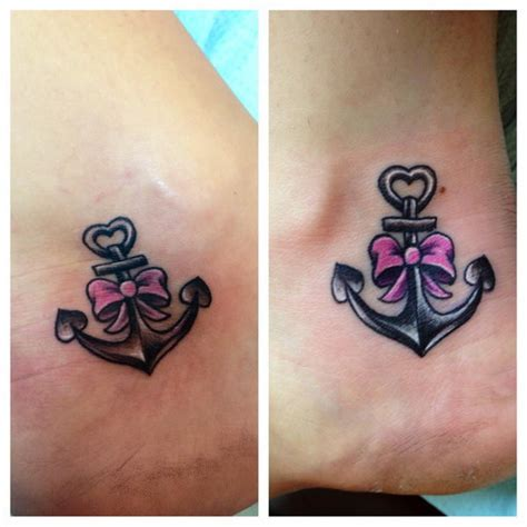 best friend anchor tattoos 55 best friend tattoos amazing ideas