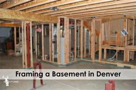 framing a basement framing a basement in denver elkstone basements