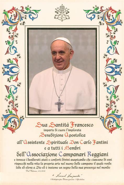 ufficio pergamene della elemosineria apostolica vaticano aprile 2014 incontro con mons vescovo e benedizione