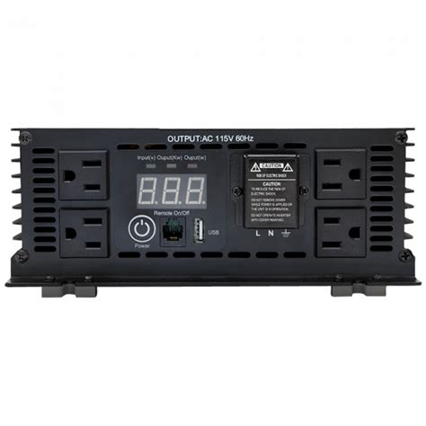 Power Inverter 1000 Watt thor 1 000 watt power inverter 12v to 120v