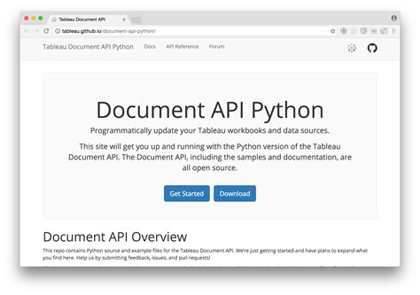 Tableau Api Documentation tableau 10 1新機能 tableau document api について developersio