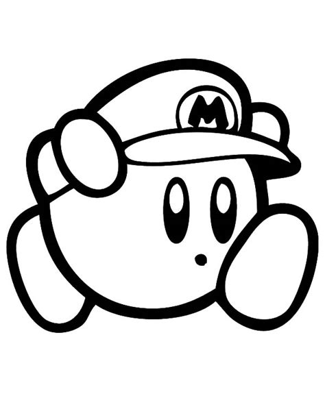 kirby mario coloring pages super mario s free coloring pages on art coloring pages