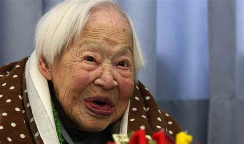 meet the oldest person to ever appear in sports misao okawa world s oldest person march 5 1898 april