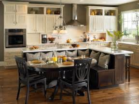 Kitchen Bench Island by Kitchen Island Table Ideas And Options Hgtv Pictures