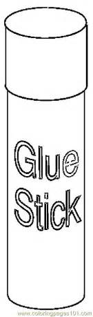 glue stick 2 coloring page free coloring pages