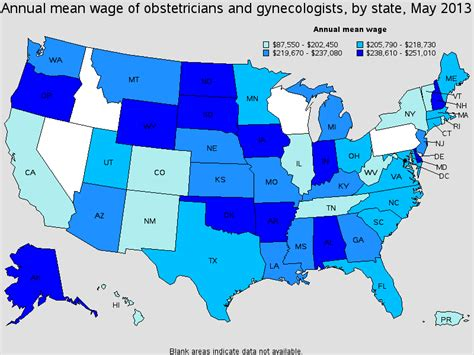 gynecologist salary healthcare salary world