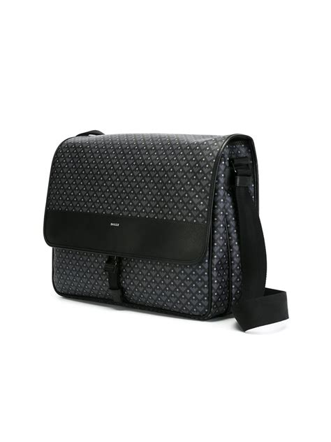 Eiger Camou Wallets Black bally medium eiger messenger bag in black for lyst