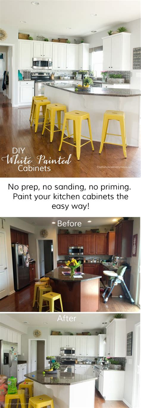 easy way to paint kitchen cabinets craftaholics anonymous 174 how to paint kitchen cabinets