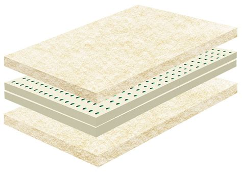 Eco Futon by Eco Rest Wool Futon Mattress Hypoallergenic