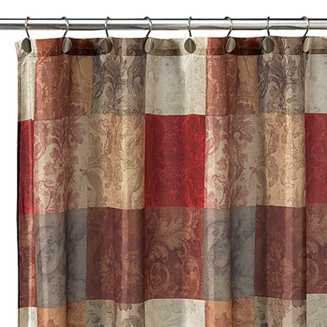 tuscan shower curtain tuscany fabric shower curtain bed bath beyond
