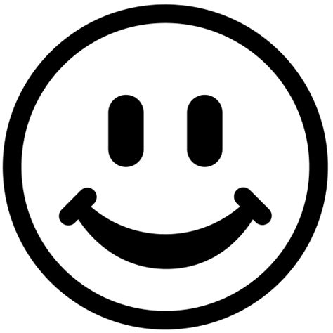 Smile White smiley clipart black and white clipart panda free