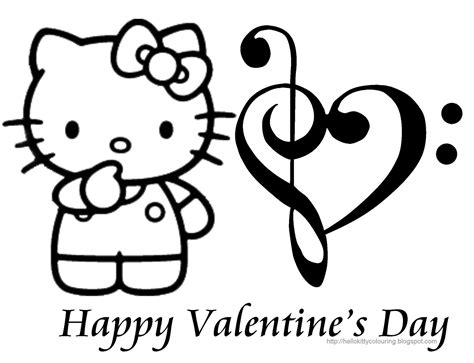 valentines day coloring pages hello kitty hello kitty valentine s day coloring page coloring book