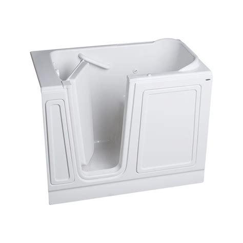 american standard acrylic bathtubs american standard acrylic standard series 48 in x 28 in walk in whirlpool tub in white 2848