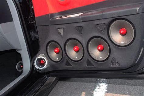 Car Door Tweeters Speakers Cover Panel Trim Kit For Toyota Camry Highl doors door panels and speakers on