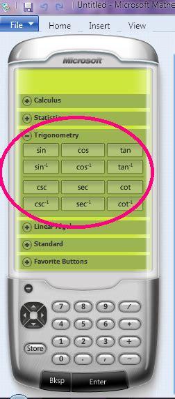 calculator pangkat pendar bintang trigonometri dengan menggunakan microsoft