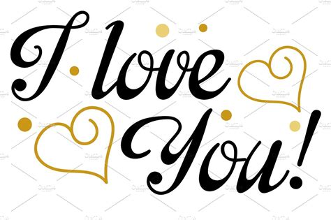 tattoo fonts i love you i you lettering design vector script fonts