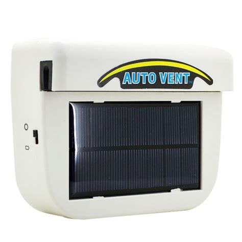 Solar Powered Car Air Ventilation System Sistem Venti Murah solar powered car auto cooling fan air vent ventilate with rubber car heat fan system keep