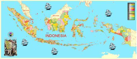 printable world cities map map indonesia printable admin exact vector map