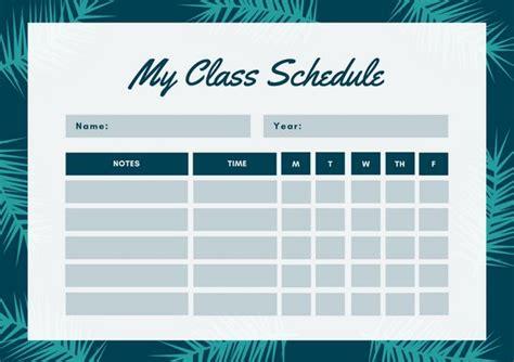 canva schedule customize 2 623 class schedule templates online canva