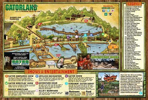 theme park jobs in orlando park map gatorland orlando florida family adventure