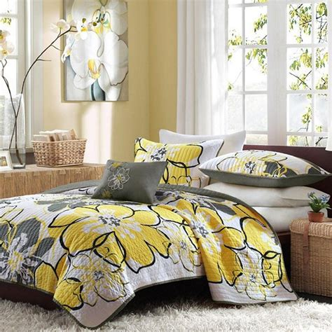 yellow bedding 20 yellow duvet sets for a happy and gaiety bedroom home
