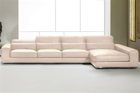 White Leather Corner by Sofas For Sale Italian Leather Discount