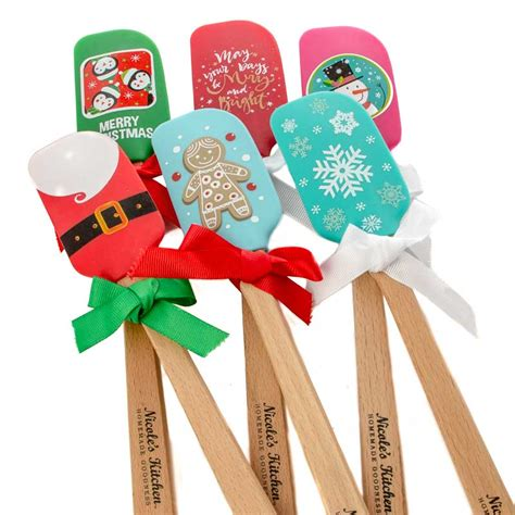 Christmas Party Centerpiece - christmas silicone spatula mini kitchen utensils kitchen and bath home decor