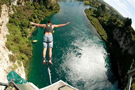 taupo bungy swing taupo activities nz travel planner nz travel organiser