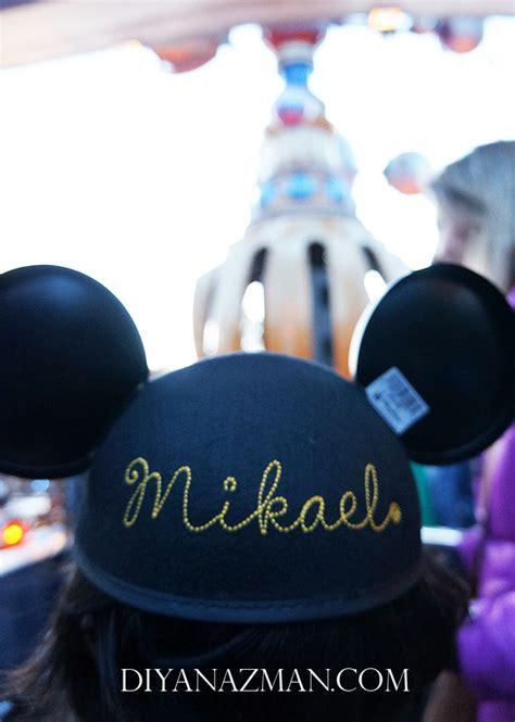 Topi Lingkar Mickey Mouse happiest place on earth disneyland resort california usa vacation day 7 diyanazman