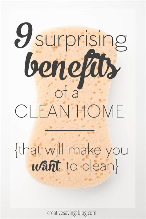 cleaning inspiration the 9 surprising benefits of a clean home
