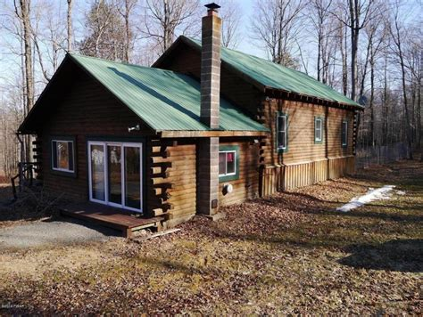 Cabin For Sale In Pa by Wooded Log Cabins Pennsylvania Mitula Homes